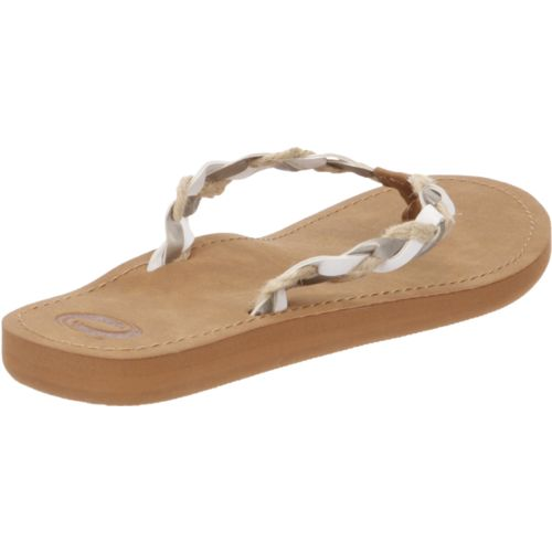 O'Rageous Women's Rafia Braid Sandals - view number 3