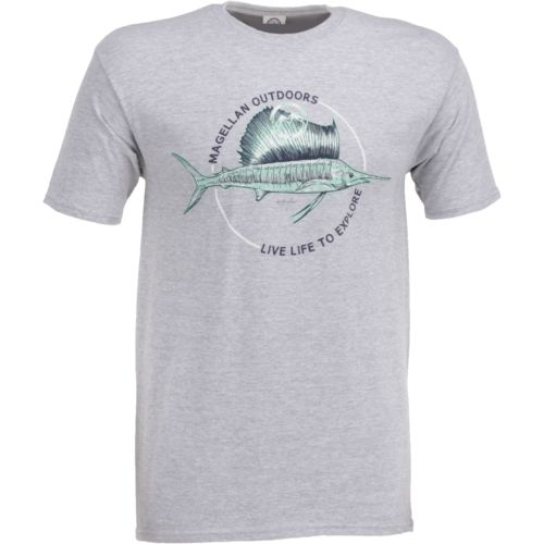 Display product reviews for Magellan Outdoors Men's Sketched Marlin T-shirt