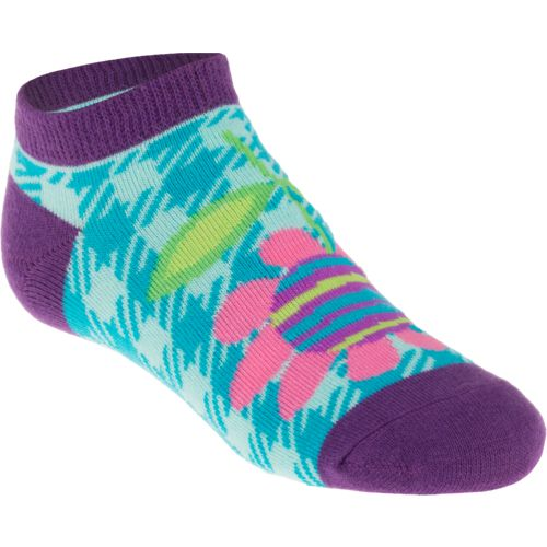 BCG Girls' Summer Icons No-Show Socks 10 Pairs