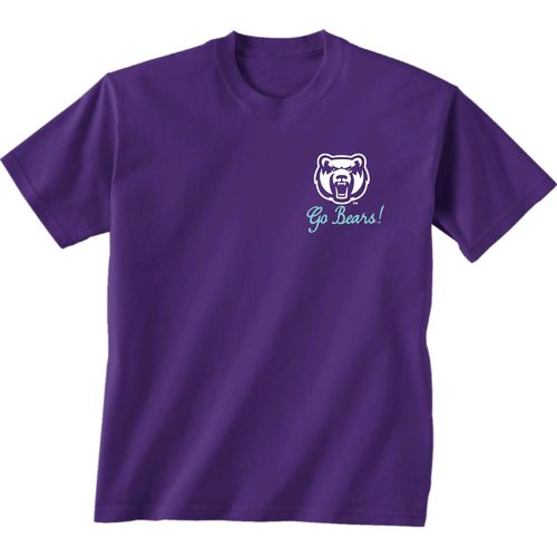 New World Graphics Women's University of Central Arkansas Bright Bow Short Sleeve T-shirt - view number 2