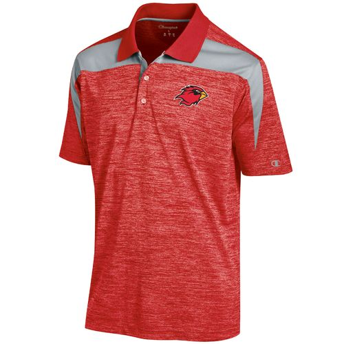 Champion™ Men's Lamar University Synthetic Colorblock Polo Shirt