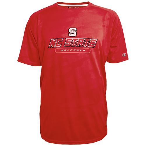 Champion™ Men's North Carolina State University Impact Embossed T-shirt