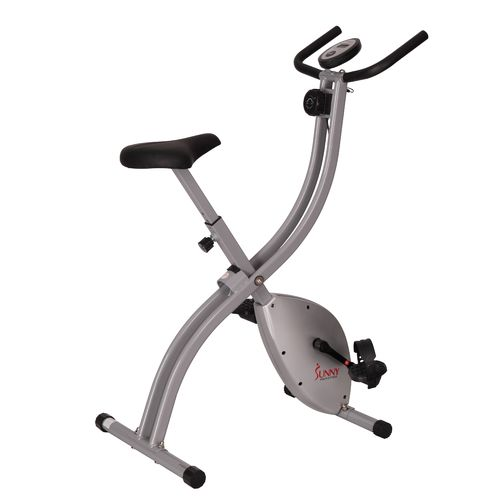 Sunny Health & Fitness Magnetic Folding Exercise Bike