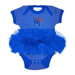 Two Feet Ahead Infants' University of Memphis Pin Dot Tutu Creeper - view number 1