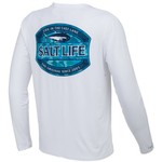 Salt Life Men's Life In The Cast Lane Performance Long Sleeve T-shirt - view number 2