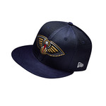 New Era Men's New Orleans Pelicans 59FIFTY Team On Court Cap - view number 2