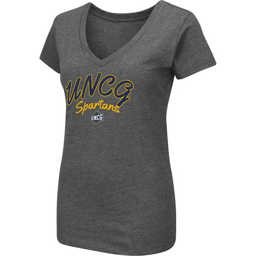 Colosseum Athletics Women's University of North Carolina at Greensboro Team Font Arch T-shirt