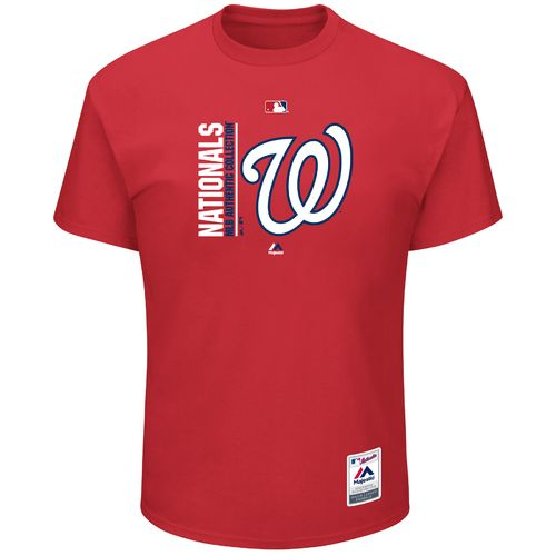 Majestic Men's Washington Nationals Authentic On Field Team Icon T-shirt