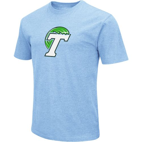 Colosseum Athletics Men's Tulane University Logo Short Sleeve T-shirt