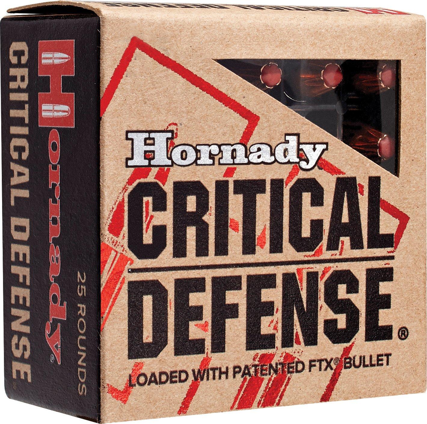 Display product reviews for Hornady .40 165-Grain Critical Defense® Handgun Ammunition