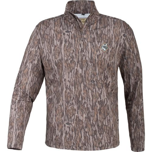 Ol' Tom Adults' Performance 1/4 Zip Camo Jacket