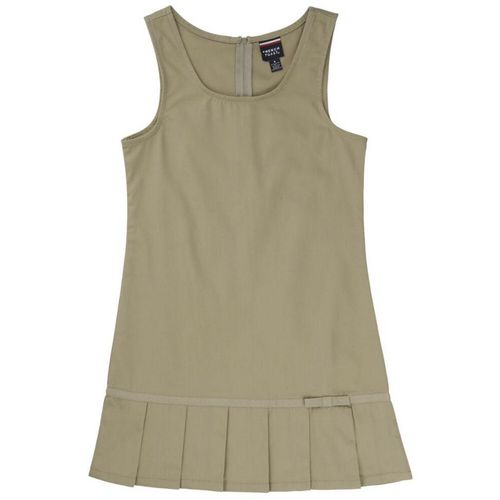 French Toast Toddler Girls' Pleated Hem Jumper