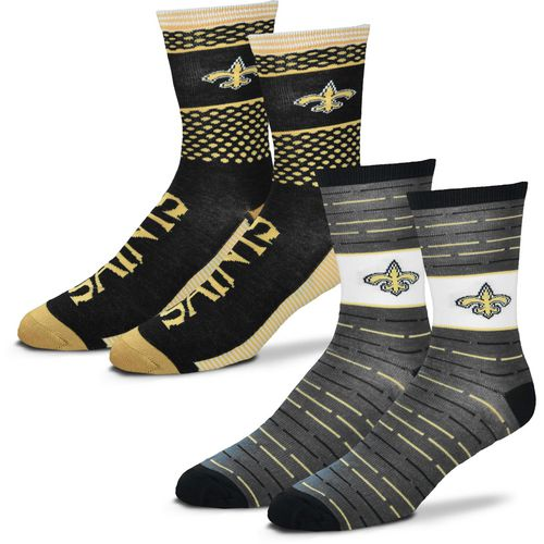 For Bare Feet Men's New Orleans Saints Father's Day Socks