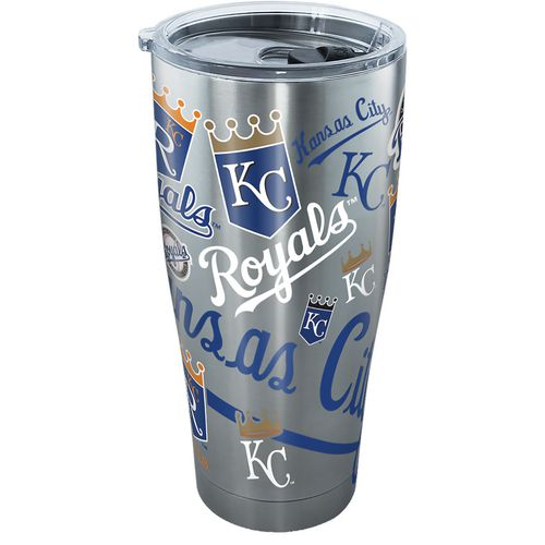 Tervis Kansas City Royals 30 oz All Over Stainless-Steel Tumbler