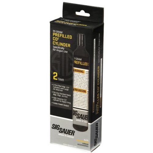 SIG SAUER Air Gun CO2 Cartridges 2-Pack