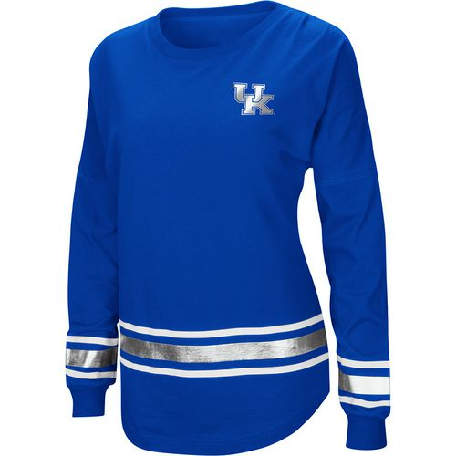 Colosseum Athletics Women's University of Kentucky Humperdinck Oversize Long Sleeve T-shirt