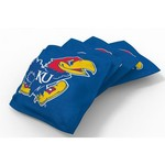 Wild Sports University of Kansas Beanbag Set - view number 1