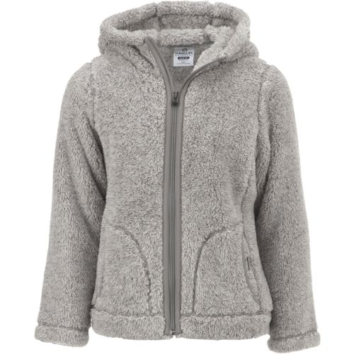 Magellan Outdoors Girls' Teddy Bear Fleece Jacket - view number 1