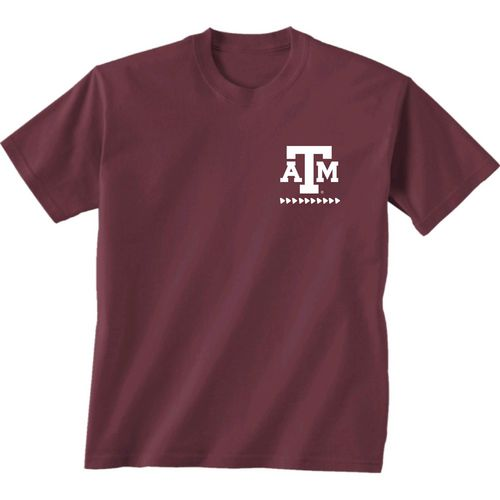 New World Graphics Women's Texas A&M University Terrain State T-shirt - view number 2