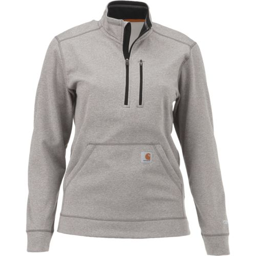 Carhartt Men's Force Extremes Mock Neck 1/2 Zip Sweatshirt - view number 1