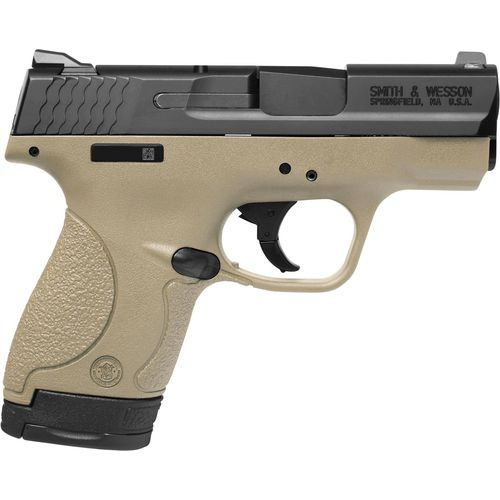 Smith & Wesson M&P9 SHIELD 9mm Luger Pistol With Thumb Safety