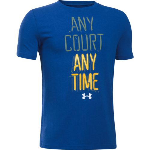 Under Armour Boys' Any Court Any Time Short Sleeve T-shirt