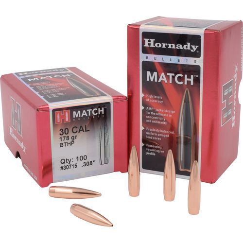 Display product reviews for Hornady BTHP Match™ .30 178-Grain Bullets