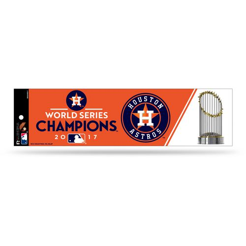 Rico Astros 2017 World  Series Champions Bumper   Sticker