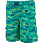 O'Rageous Boys' X-Ray Fish Printed Boardshorts - view number 1