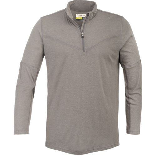 Display product reviews for Magellan Outdoors Men's Adventure Gear Red Rock Wool Blend 1/4 Zip Pullover