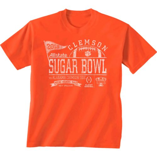 New World Graphics Men's Clemson University Sugar Bowl Pennant T-Shirt