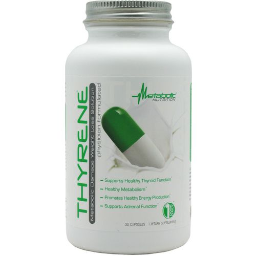 Metabolic Nutrition Thyrene Weight Loss Capsules