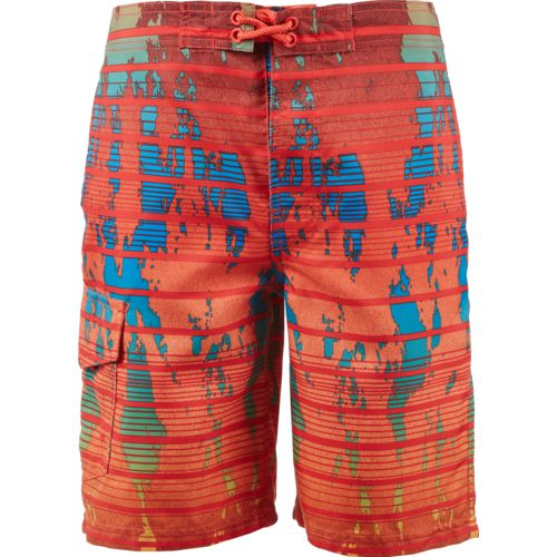 O'Rageous Boys' Typography True Boardshorts
