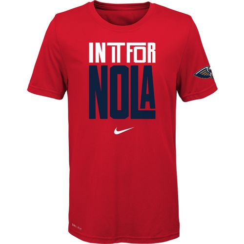 Nike Boys' New Orleans Pelicans In It Verbiage Dri-FIT T-shirt