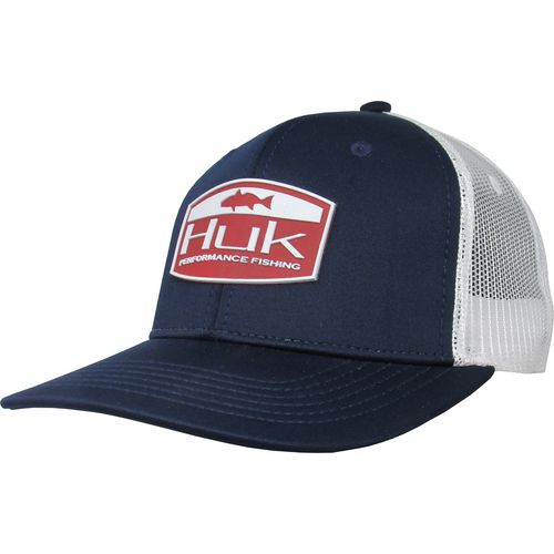 Huk Men's Red Drum Trucker Cap