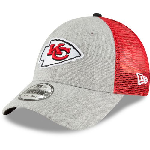 New Era Men's Kansas City Chiefs 9FORTY Heathered Turn Adjustable Cap