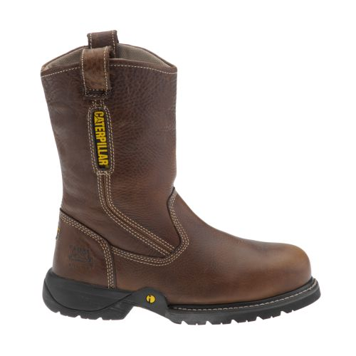 Caterpillar Men's Gladstone Pull-On Steel-Toe Work Boots