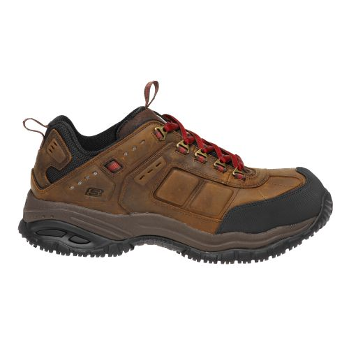 SKECHERS Menu0026#39;s Work Soft Stride Constructor Shoes | Academy