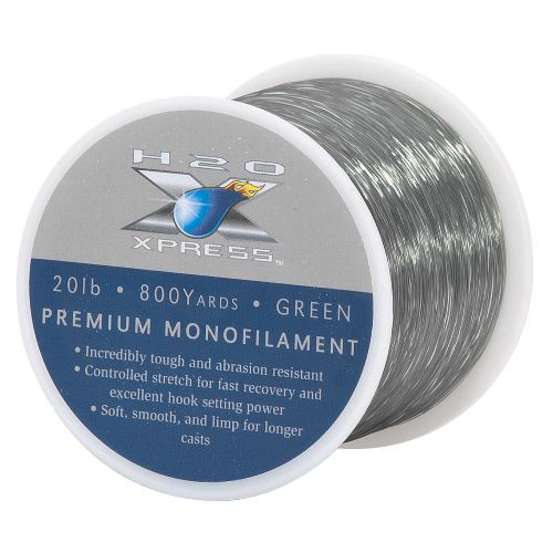 Display product reviews for H2O XPRESS 20 lb - 800 yd Monofilament Fishing Line
