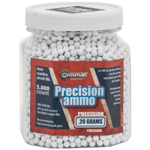 Crosman 6mm Heavy White BBs 5,000-Count