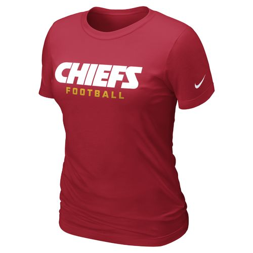 Nike Women's Kansas City Chiefs Wordmark T-shirt