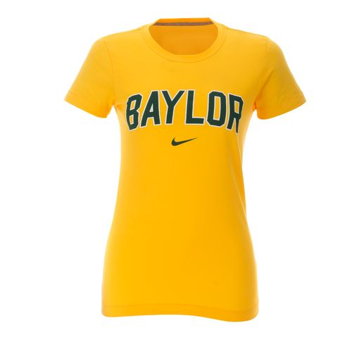 Nike Women's Baylor University Arch Short Sleeve T-shirt