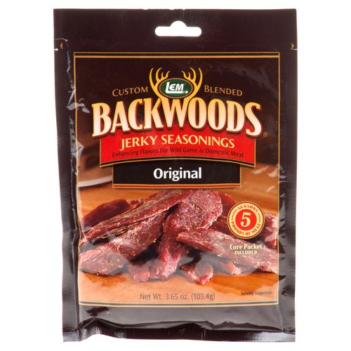Display product reviews for LEM Backwoods Original Jerky Seasoning