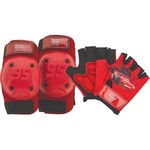 Bell Boys' Disney Cars Protective Pad and Gloves Set