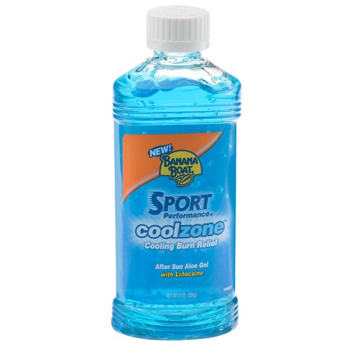 banana boat® cool zonetm after sun aloe gel with lidocaine