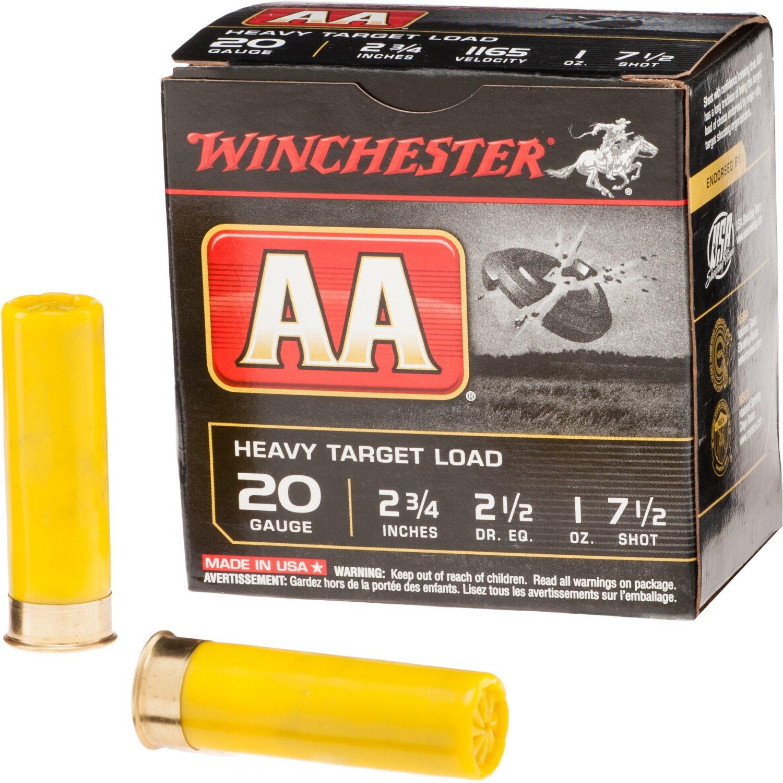 Winchester AA Heavy Target Load 20 Gauge Shotshells