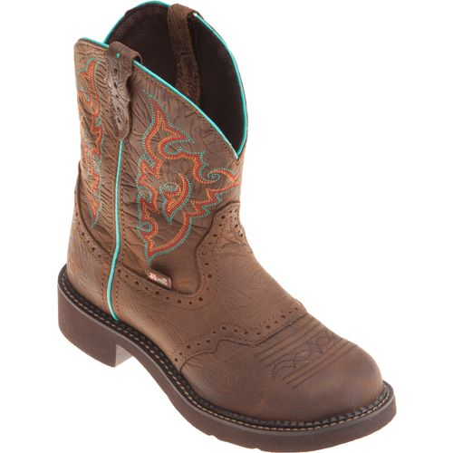 Justin Women's Gypsy® Barnwood Cowhide Western Boots - view number 2