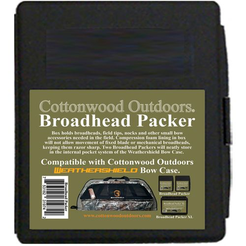Cottonwood Outdoors Weathershield Bow Case with Broadhead Boxes - view number 3