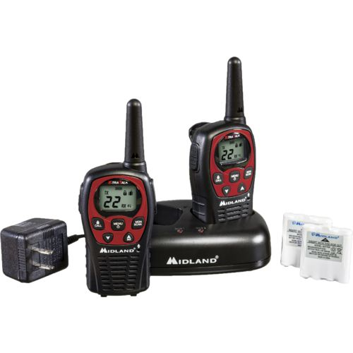 Midland GMRS 2-Way Radios 2-Pack with Charger