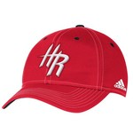 adidas™ Adults' Houston Rockets Authentic Team Flex Cap